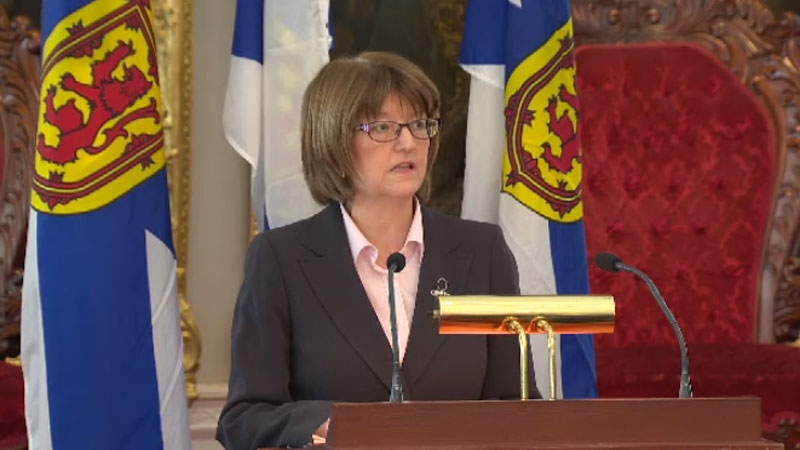 N.S. Finance Minister Diana Whalen says the government's upcoming budget won't touch a tax credit to volunteer firefighters or apply a tax to books.