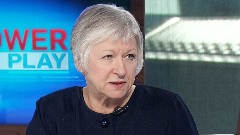 Former auditor general Sheila Fraser on CTV's Power Play Thursday, April, 3, 2014.