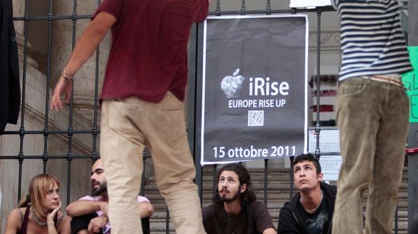 Rome, preparation, protest, Occupy