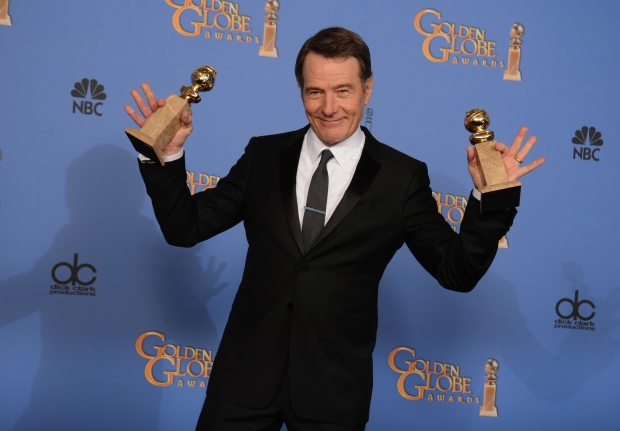 Bryan Cranston at Golden Globes