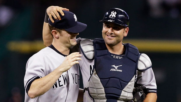 New York Yankees pitcher David Robertson