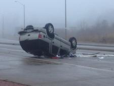 Fatal Lauzon Parkway crash