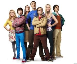 Sheldon (center) gets Bob Newhart as his Jedi master in a Big Bang Theory special. (Warner Bros. Television)