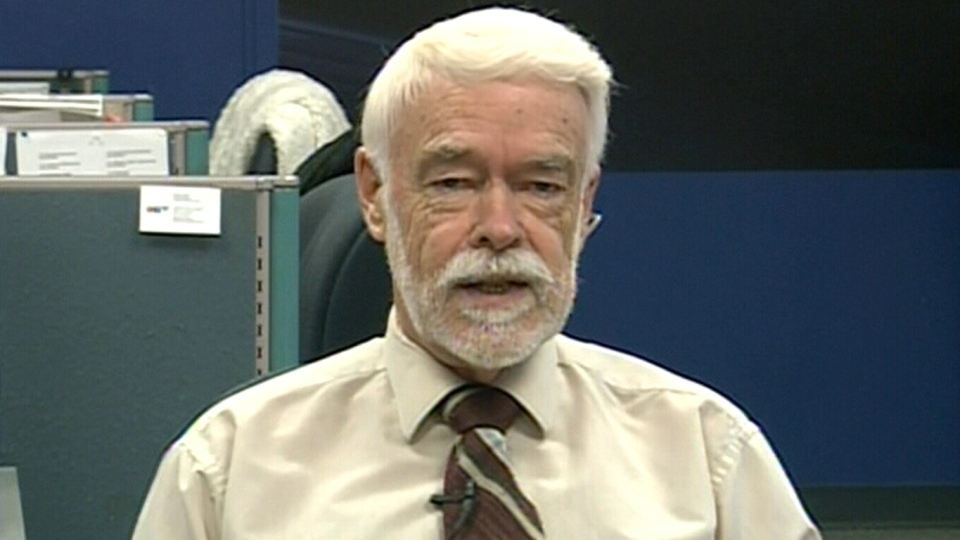 Retired teacher Bruce Farrer, who mails students letters they penned decades ago, speaks to CTV News Channel on Friday, April 4, 2014.