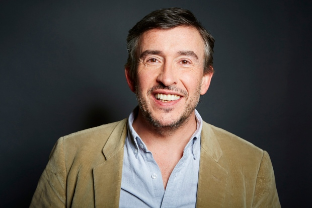 Comedian Steve Coogan is seen in New York
