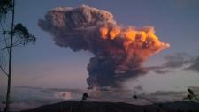 Tungurahua volcano spews ash