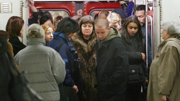 Subway crowding