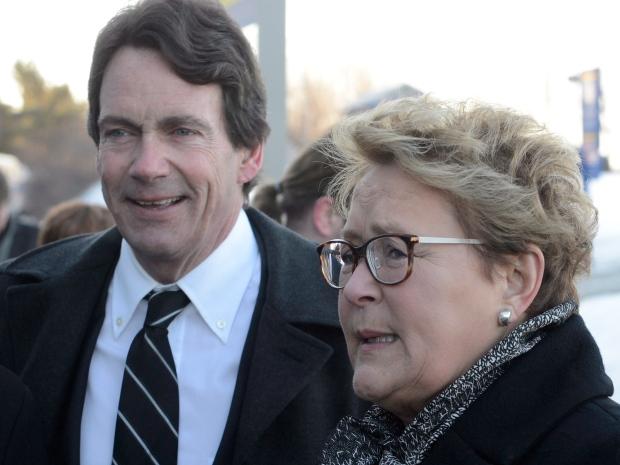 Pauline Marois campaigns in Laval