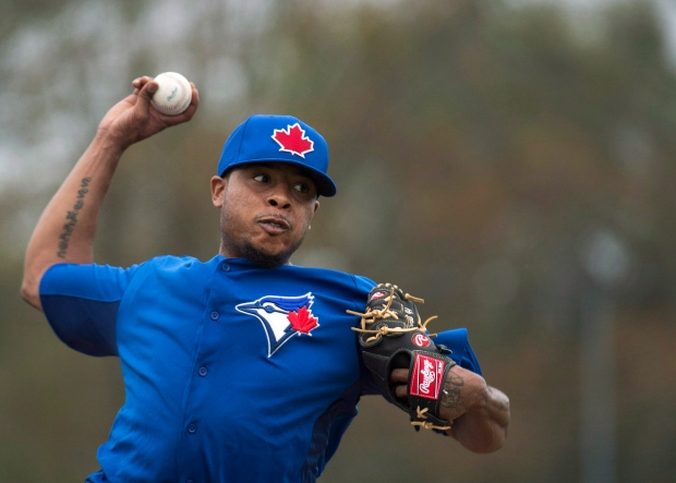 Toronto Blue Jays pitcher Jeremy Jeffress