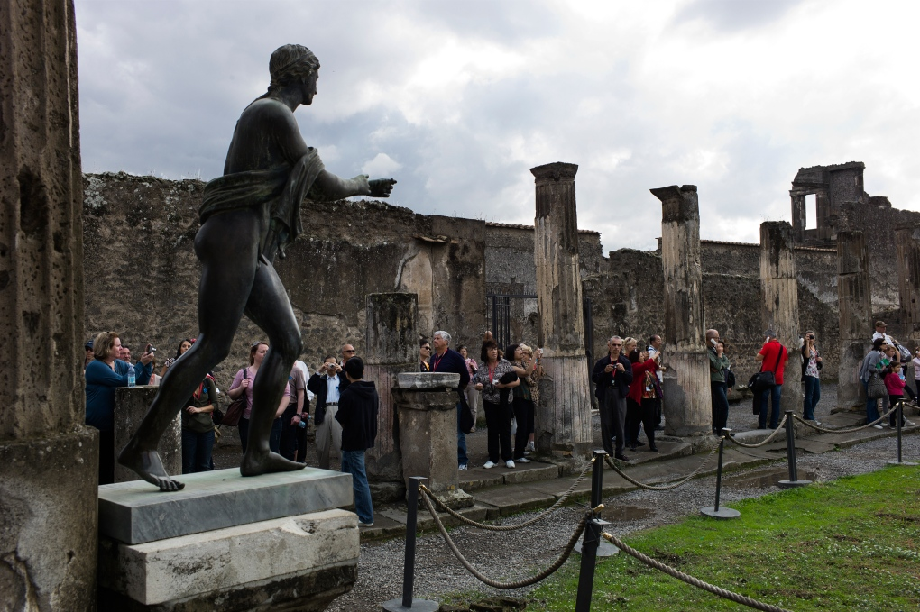Pompeii continues to crumble