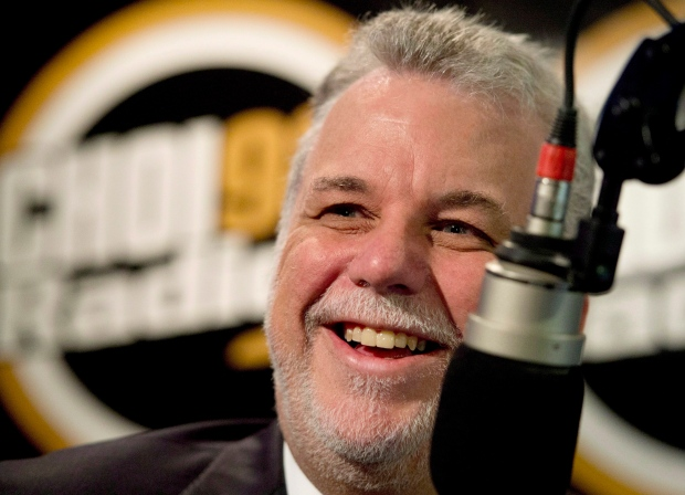 Liberal leader Philippe Couillard