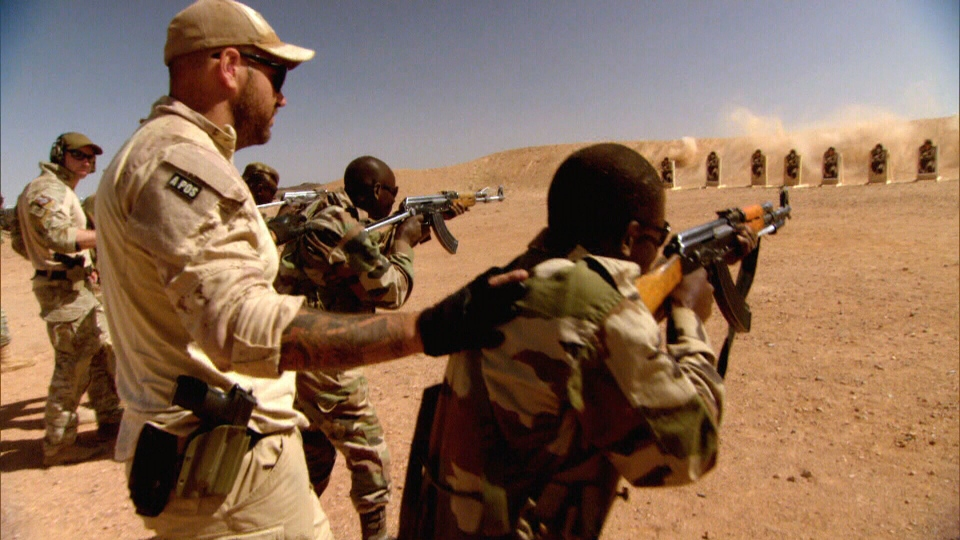 Training mission in Niger