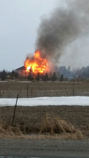 Brampton church fire