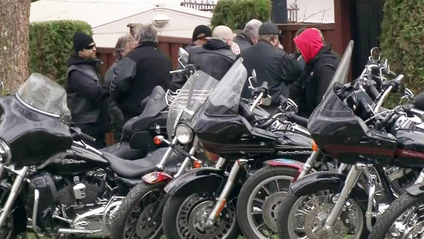 CTV Vancouver: Hells Angels tailed by police | CTV News