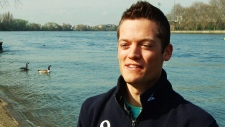 Canadian rower on Team Oxbridge