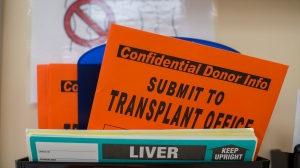 Organ donation paperwork