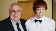 Ottawa councillor Allan Hubley lost his son James to suicide on Oct. 14, 2011.