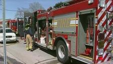 London fire truck
