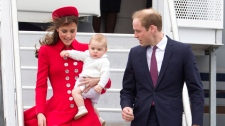 Prince George's first royal tour