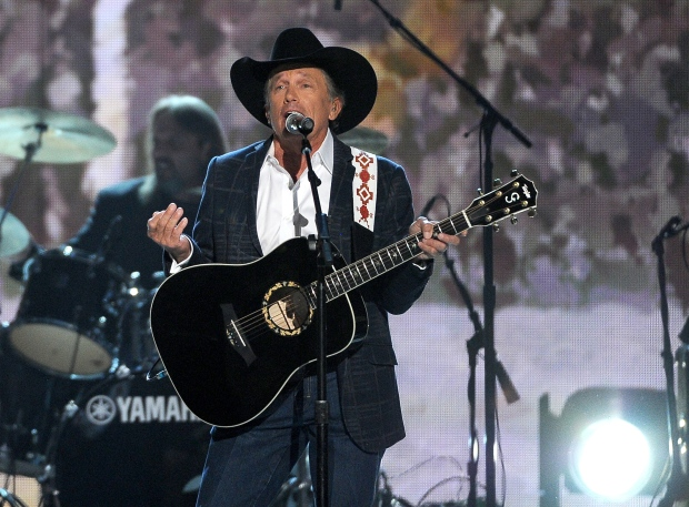 George Strait at Academy of Country Music Awards