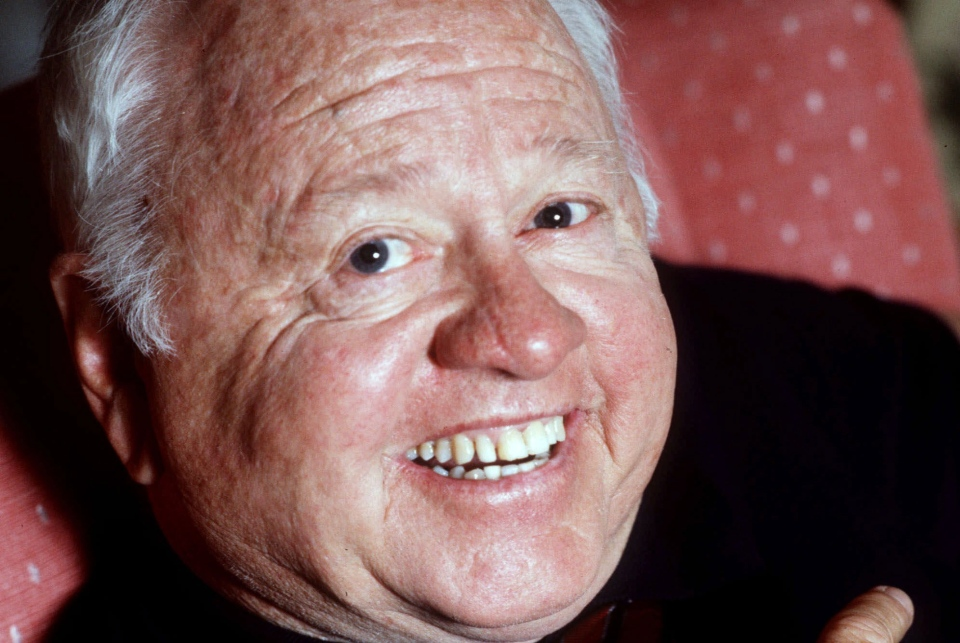 Entertainer Mickey Rooney is shown in this May 1987 file photo.  (AP Photo)