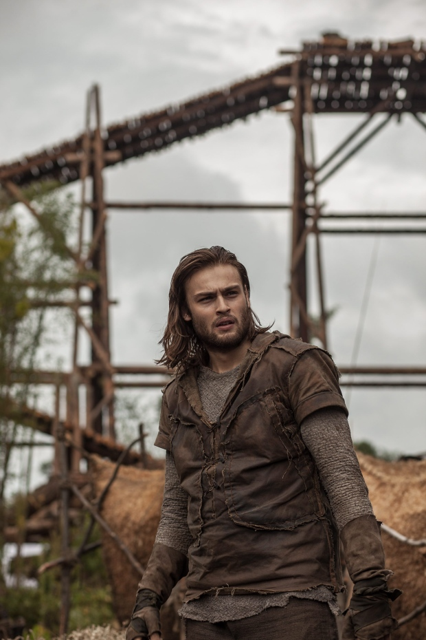 Douglas Booth in a scene from the film 'Noah'