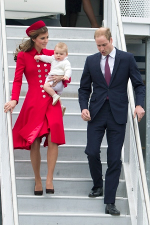 Prince George joins parents on tour Down Under