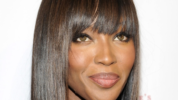 "Honoree Naomi Campbell attends the Gabrielle's Angel Foundation for Cancer Research ""Angel Ball"" honors gala at Cipriani's Wall St. on Monday, Oct. 17, 2011 in New York. (AP Photo/Evan Agostini)"