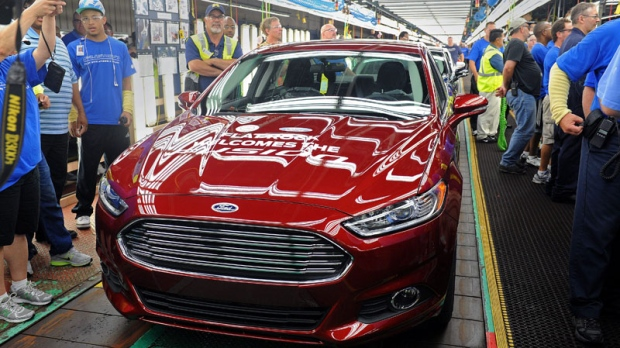 A Ford Fusion on a Michigan production line & Ford recalls more than 435000 cars in U.S. and Canada | CTV News ... markmcfarlin.com