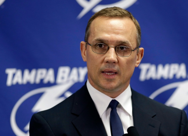 Yzerman signs contract extension with Tampa