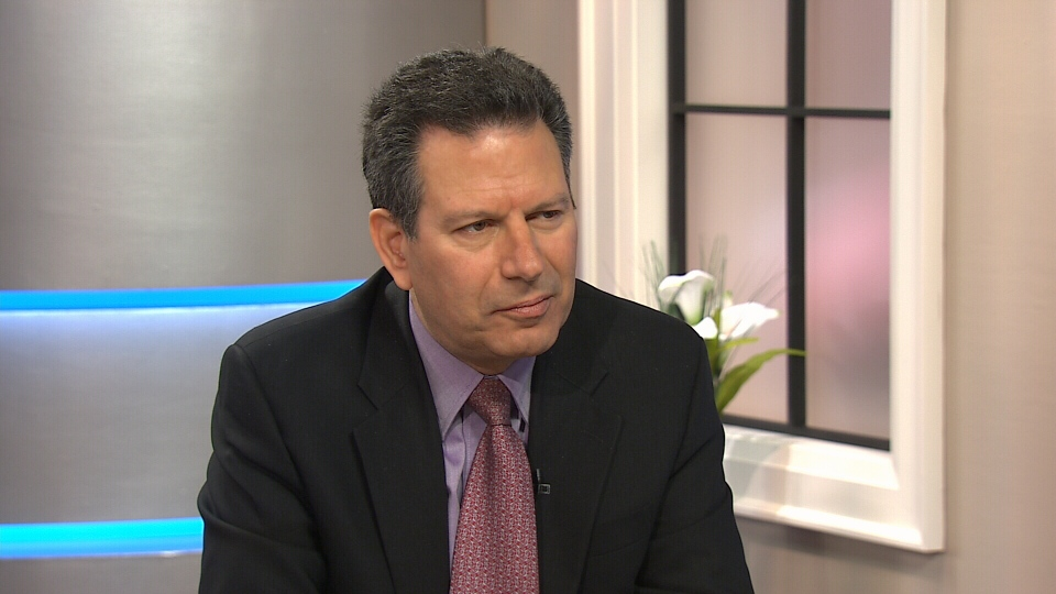 Author Robert Kaplan on CTV's Canada AM on April 8, 2014.