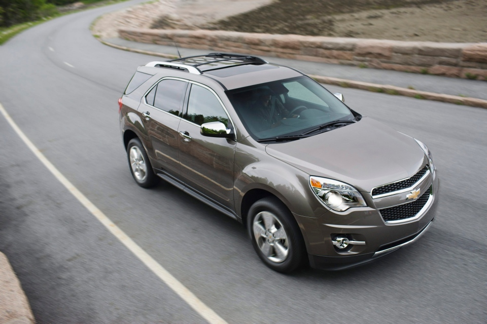 The 2012 Chevrolet Equinox SUV is seen in this undated photo. (Chrevrolet / Tyler Gourley)