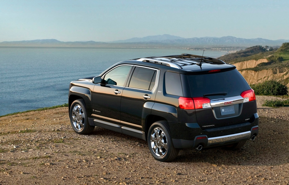 A 2010 GMC Terrain is shown in this undated photo. (General Motors)