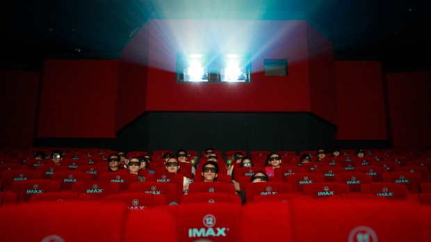 3D IMAX movie in Beijing, China