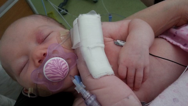 Ontario baby in hospital with whooping cough