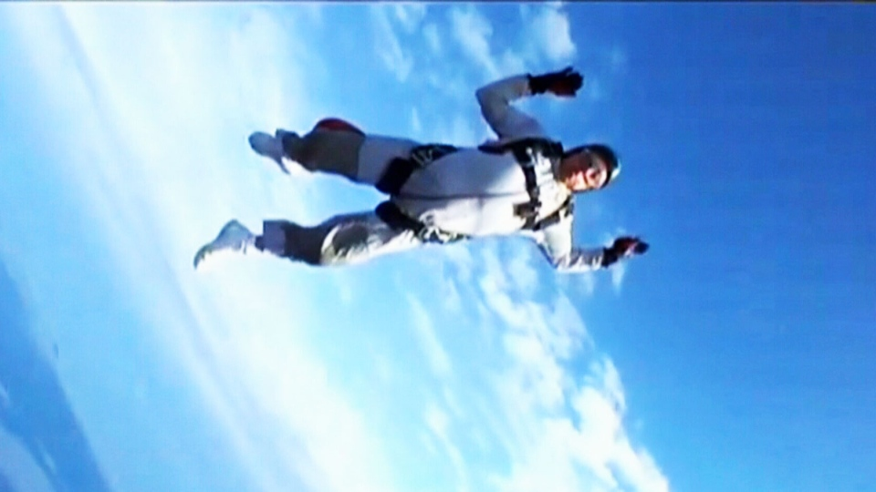 More seniors are taking up extreme activities such as skydiving and ziplining as they reach their retirement years.