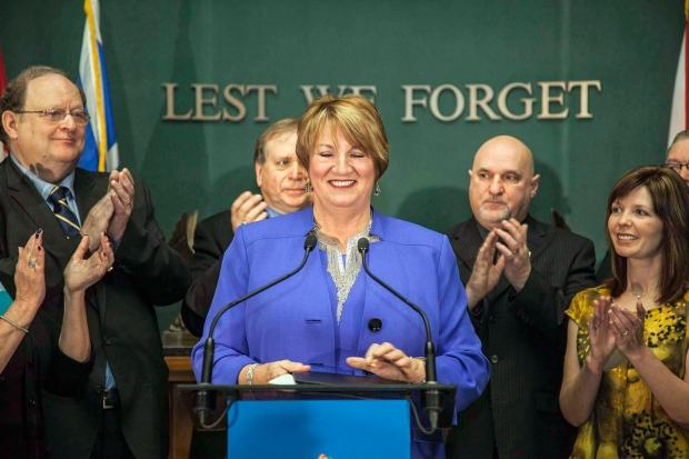 Kathy Dunderdale resigns in St. John's