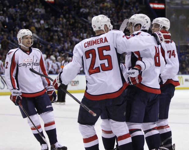 Capitals' Ovechkin scores 50th goal of season