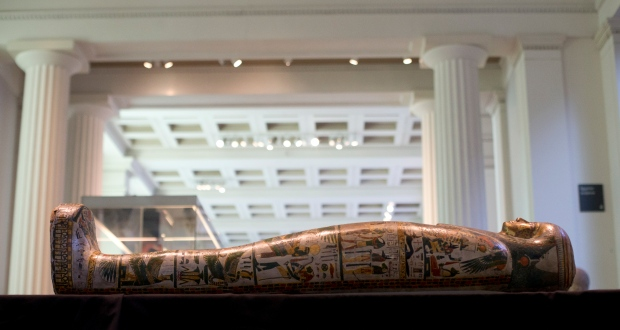 The Mummy of Tamut at the British Museum