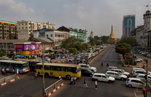 Recently imported used-cars in Myanmar