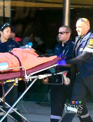 Witnesses describe chaos at stabbing scene