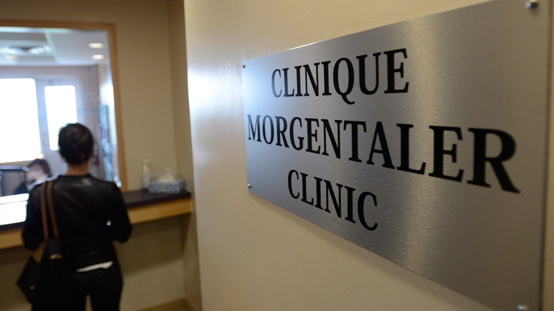 May 29, 2013 file photo of the Morgentaler clinic in Montreal, Quebec. (THE CANADIAN PRESS/Ryan Remiorz)
