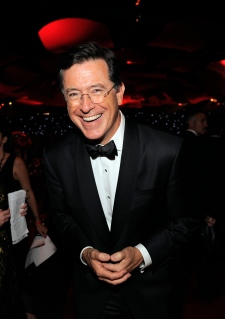 TV personality Stephen Colbert
