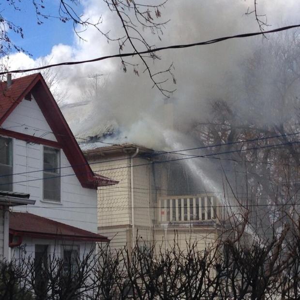 Fire Tears Through A 105-year-old Nutana House