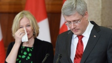 Harper speaks about the death of Jim Flaherty