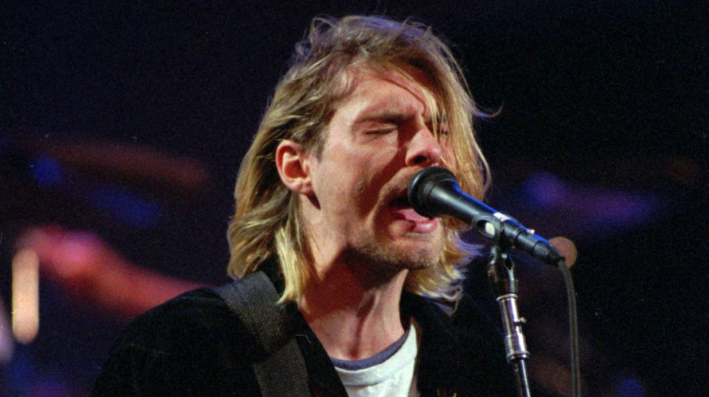 Rock hall induction honours Nirvana