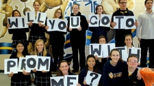 Heartwarming 'promposal' video goes viral