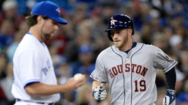 Blue Jays play against Astros at Rogers Centre