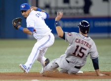 Blue Jays play Astros at Rogers Centre