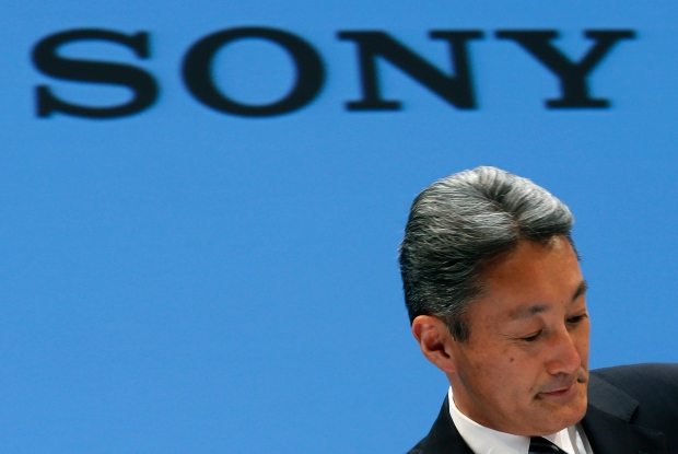 Sony Corp. president and CEO Kazuo Hirai in Tokyo
